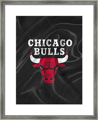 Chicago Bulls Framed Print