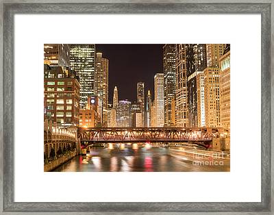 Chicago Framed Print by Juli Scalzi