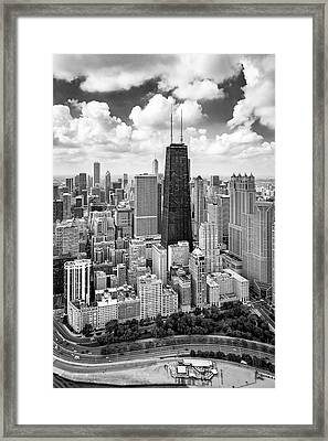 Chicago's Gold Coast Framed Print