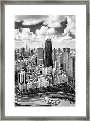 Chicago's Gold Coast Framed Print