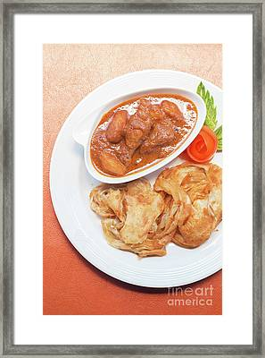 Chicken Massaman Curry Framed Print