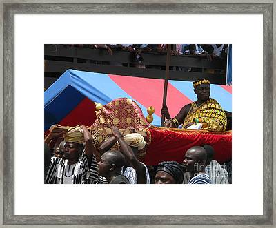 Framed Print featuring the photograph Chiefs On Parade by Erik Falkensteen