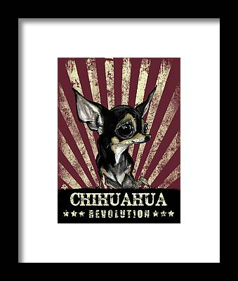 Chihuahua Framed Prints