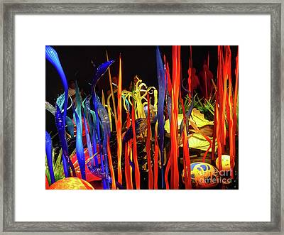 Chihuly Garden And Glass Exhibition Framed Print