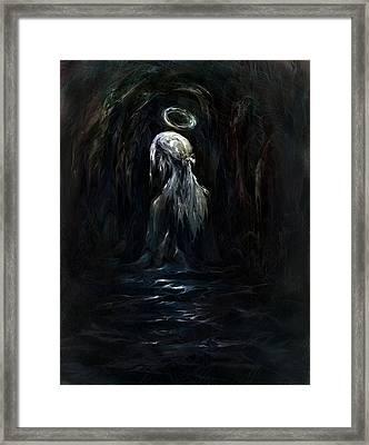 Child Of God Framed Print by Rachel Christine Nowicki
