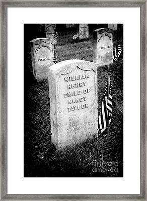 Child Of Nancy Framed Print by Paul W Faust - Impressions of Light