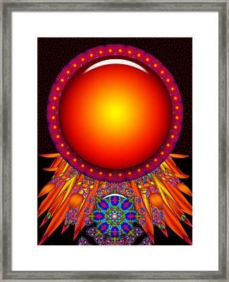 Framed Print featuring the digital art Children Of The Sun by Robert Orinski