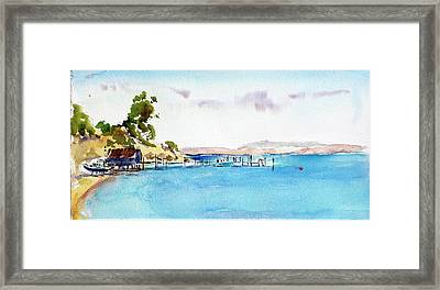 China Camp Village Framed Print