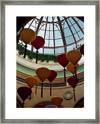 Chinese Lanterns Framed Print by Rae Tucker