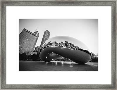 Chitown Bean Framed Print by Todd Klassy