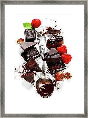 Chocolate Framed Print by Natalia Klenova
