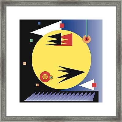 Choreographic Framed Print by James Maltese