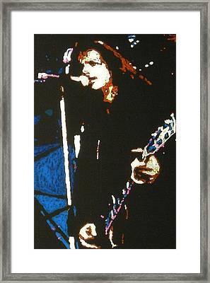 Chris Cornell Framed Print by Grant Van Driest