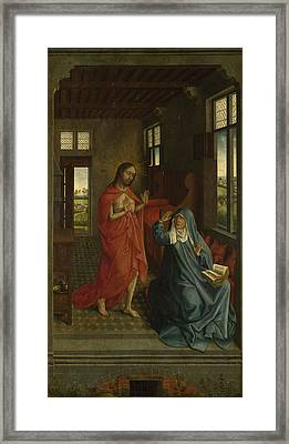 Christ Appearing To The Virgin Framed Print