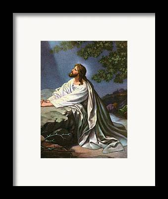 New Testament Drawings Framed Prints