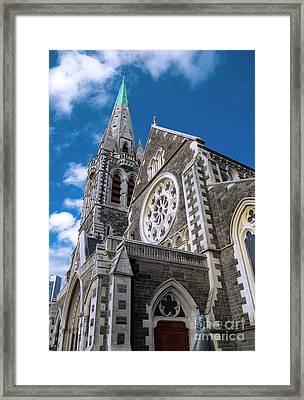 Christchurch Cathedral Framed Print by Karen Lewis