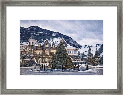 Christmas Dreams Framed Print by Evelina Kremsdorf
