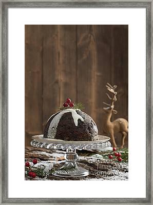Christmas Pudding Framed Print