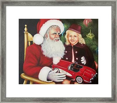 Christmas Wish Framed Print