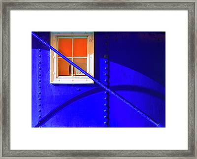 Framed Print featuring the photograph Chromatic by Wayne Sherriff