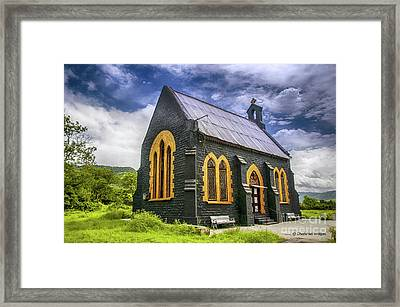 Framed Print featuring the photograph Church by Charuhas Images