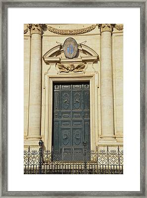 Church Entry Framed Print by JAMART Photography