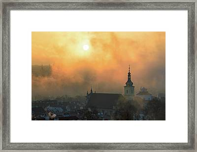 Church Of Our Lady Victorious, Prague, Czech Republic. Framed Print