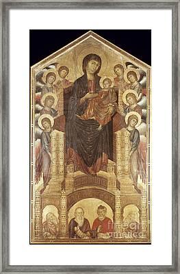 Cimabue: Madonna Framed Print by Granger