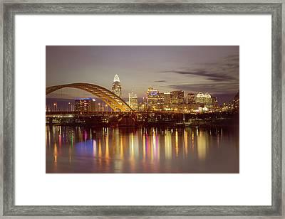 Cincinnati Framed Print by Scott Meyer