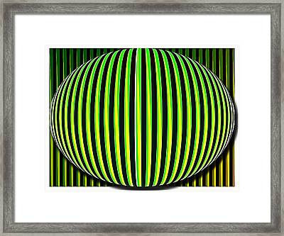 Cinetism - Abstract Framed Print