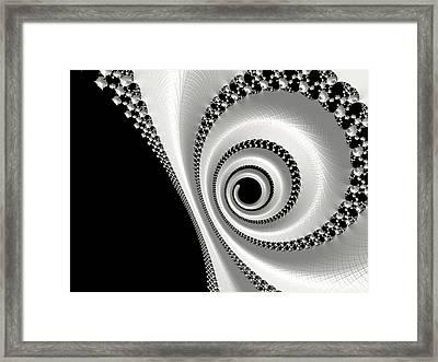 Circle Of Life Framed Print by Bonnie Bruno