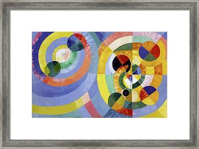Circular Forms Framed Print by Robert Delaunay