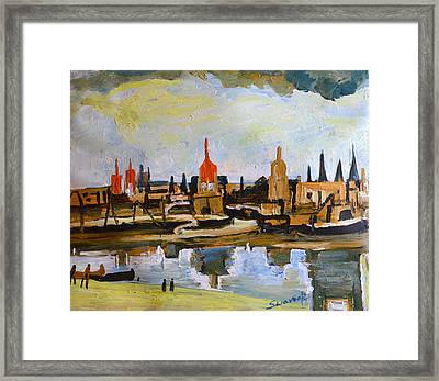 City Abstraction Framed Print