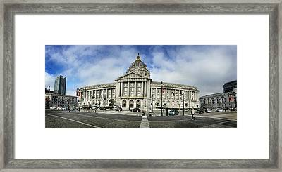 City Hall Framed Print by Nancy Ingersoll