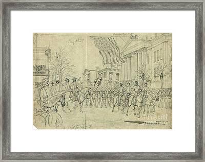 Civil War: Savannah, 1864 Framed Print