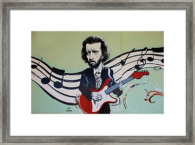 Clapton Framed Print by Rob Hans
