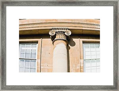 Classic Architecture Framed Print