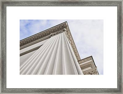 Classic Building Framed Print by Tom Gowanlock