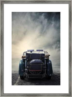 Classic Car Framed Print by Joana Kruse