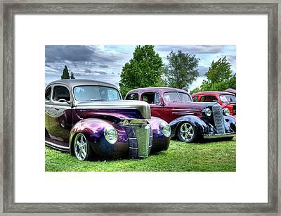 Classic Shine Framed Print