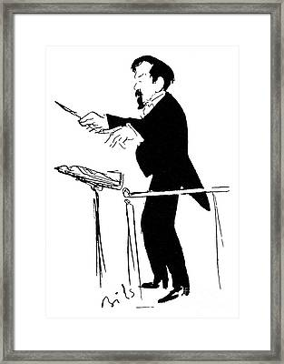 Claude Debussy (1862-1918) Framed Print by Granger