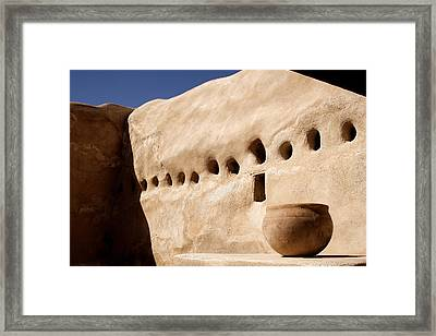 Clay Pot Framed Print by Carol Leigh
