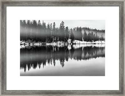 Framed Print featuring the photograph Clear Lake by Cat Connor