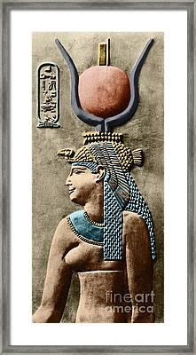 Cleopatra Vii Framed Print