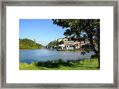 Clifton Suspenion Bridge Framed Print