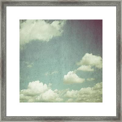 Cloud Framed Print by Marianna Mills