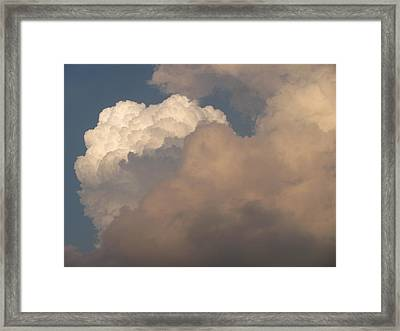 Framed Print featuring the photograph Clouds 3 by Douglas Pike