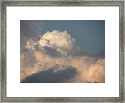 Framed Print featuring the photograph Clouds 4 by Douglas Pike
