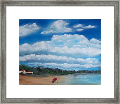 Clouds Framed Print by Tony Rodriguez