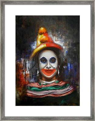 Clown Framed Print